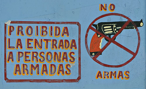 sign outside mexican bar