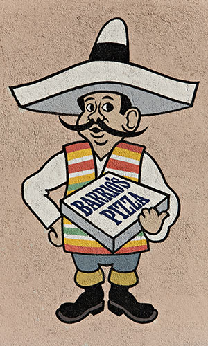 mexican pizza sign