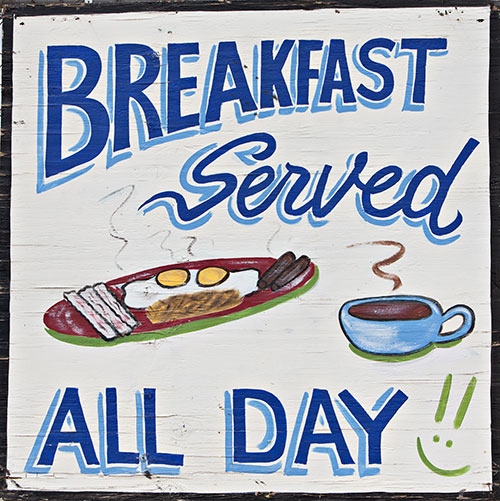 breakfast all day sign
