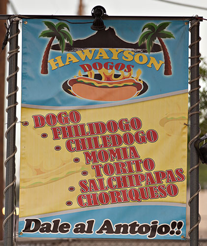 sonoran style hot dogs