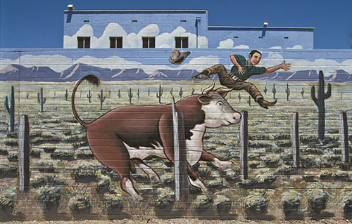 Farmer Johns Murals