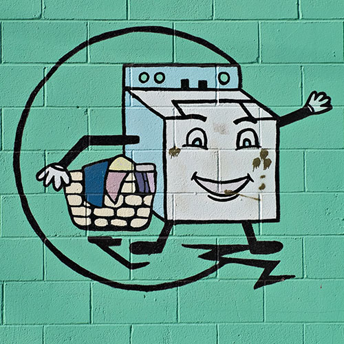 Laundromat sign