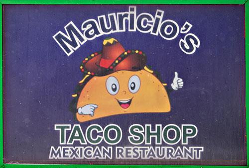 taco shop sign