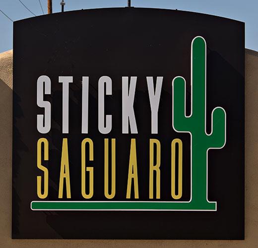 cactus themed logo